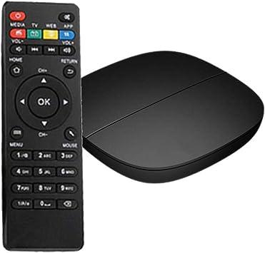 Caja de TV Android 9.0 2GB RAM 16GB ROM Caja de TV Android Hi3798m V110 de