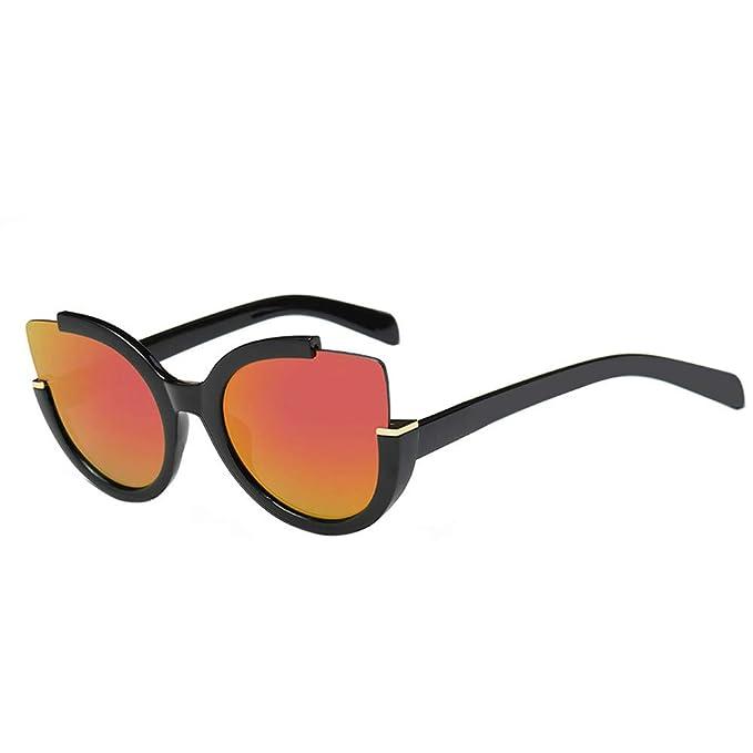 Amazon.com: JJLIKER - Gafas de sol unisex reflectantes ...