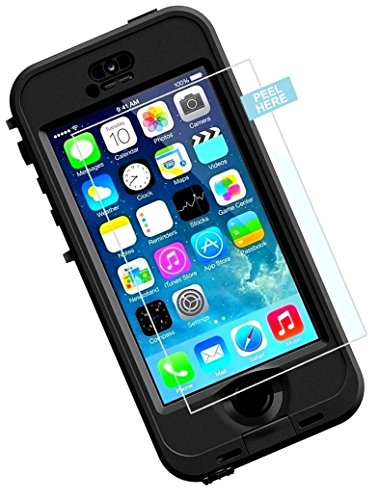 Lifeproof Nuud Tempered Glass Screen Protector, Encased (R40) shatterpr OOF Screen Protection Guard (Case Not Included) (iPhone 6/6S)