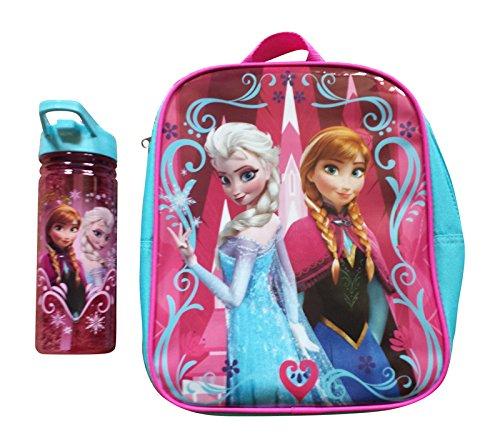 Disney Frozen Elsa & Anna Mini Backpack and Water Bottle Set