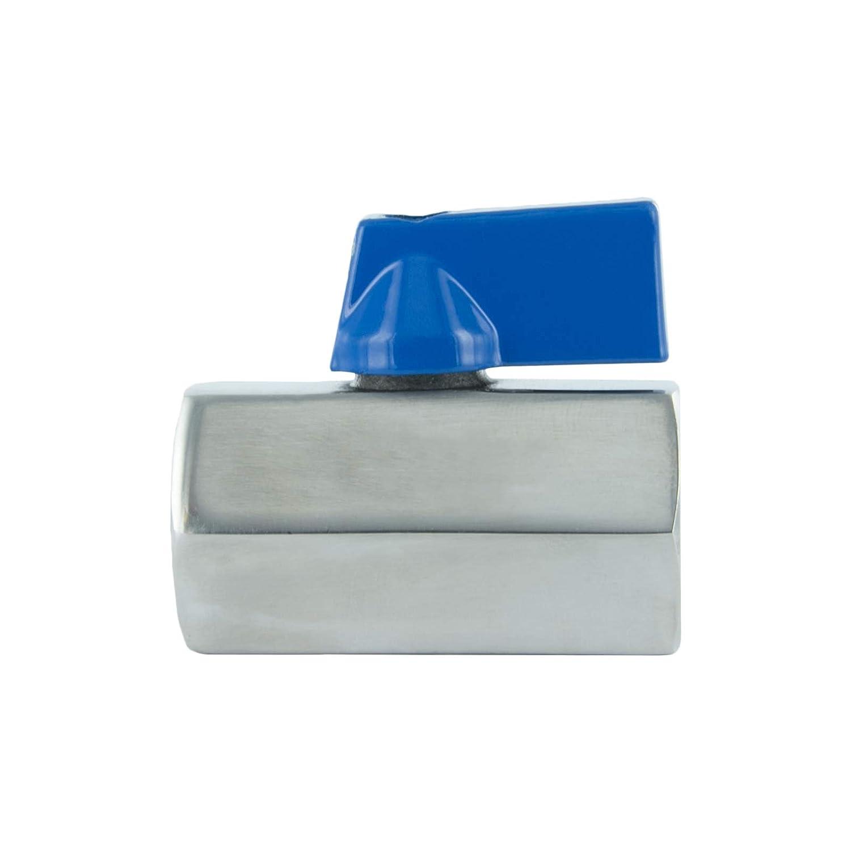 el comercio y el hogar. rosca interna de doble cara adaptador para la industria 1 V/álvula de bola monobloque llave de paso ideal