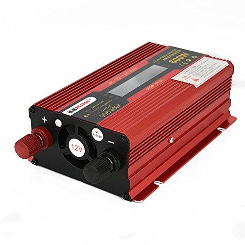 convertisseur 12v 220v 600w power inverter voiture onduleur chargeur de tension alimentation. Black Bedroom Furniture Sets. Home Design Ideas
