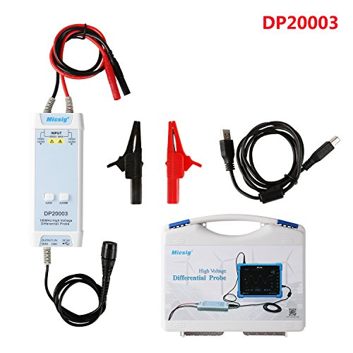 Micsig DP20003 High Voltage Differential Probe 5600V 100MHz 3.5ns Rise Time 200X/2000X Attenuation Rate