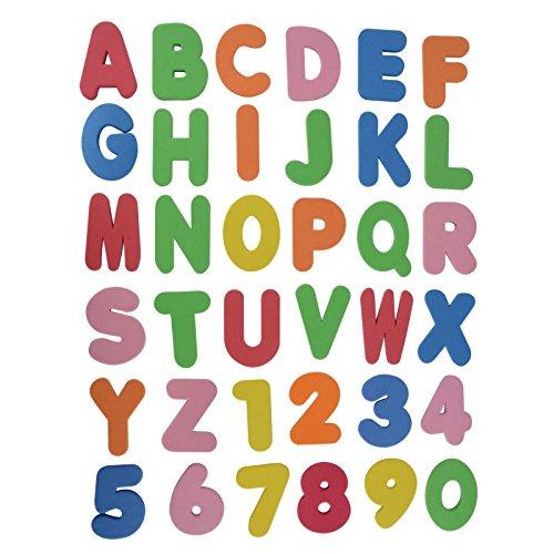 36pcs of Set Bath Tub Foam Letters Numbers - Muppet Babies Dvd Box Set