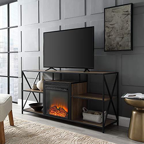WE Furniture AZ60FPXFJRO Fireplace Stand 60