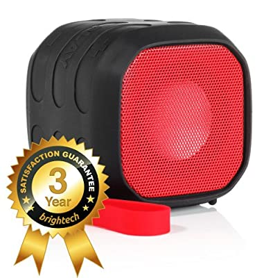 """Brightech Remix5â""""¢ - Portable Wireless Bluetooth Speaker - Ultra Rugged Design - Water Resistant and Shockproof - NFC Tap & Play Technology - Now You Can Take Great Music Anywhere! - Perfect for Outdoor Events"""