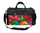 Stained Glass Swirls Gym Bag