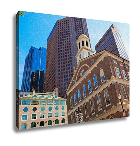 Ashley Canvas, Boston Faneuil Hall Marketplace In Massachusetts Usa, - Faneuil Hall Boston Marketplace