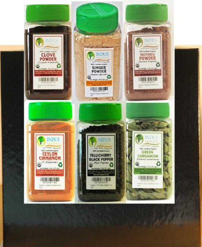 indus-organics-bakers-choice-gourmet-gift-set-collection-6-jars-of-8-oz-each-in-gift-box