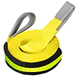 """Big Ant Tow Strap 3"""" x 20 ft, 20,000lb Capacity - Emergency Recovery"""