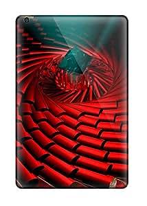 Cute Tpu Archerfashion2000 Red Circle Cases Covers For Ipad Mini