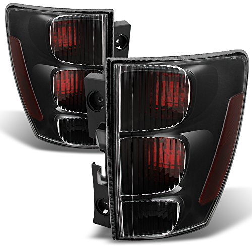 Chevy Equinox Parts - For Chevy Equinox Rear Dark Red Tail Lights Driver Left + Passenger Right Side Replacement Pair Set