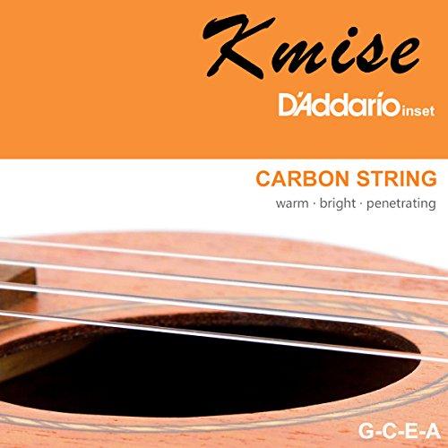 Ukulele Soprano Mahogany 21 Inch Ukelele Uke With Beginner Kit ( Gig Bag Tuner Strap String Instruction Booklet ) - Image 3
