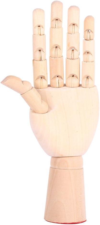 Left Yosoo 7Artist Drawing Hand Manikin Articulated Wooden Hand Child Hand Mannequin