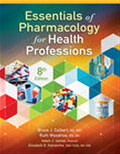 Essentials of Pharmacology for Health Professions by Delmar Cengage Learning