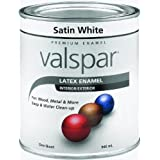 Valspar 410.0065001.005 Acrylic Latex Paint, White