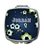 Soccer Balls Jacks Outlet CUSTOM Square Compact Mirror