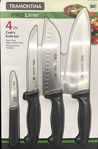 Tramontina ProLine 4 Pk Cook's Knife Set
