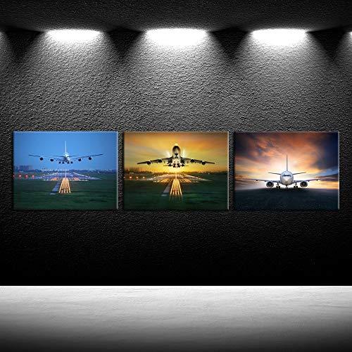 iKNOW FOTO Airplane Decoration 12x16inchx3pcs product image
