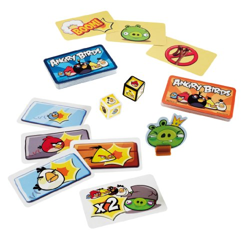 Mattel W3969 Angry Birds Card