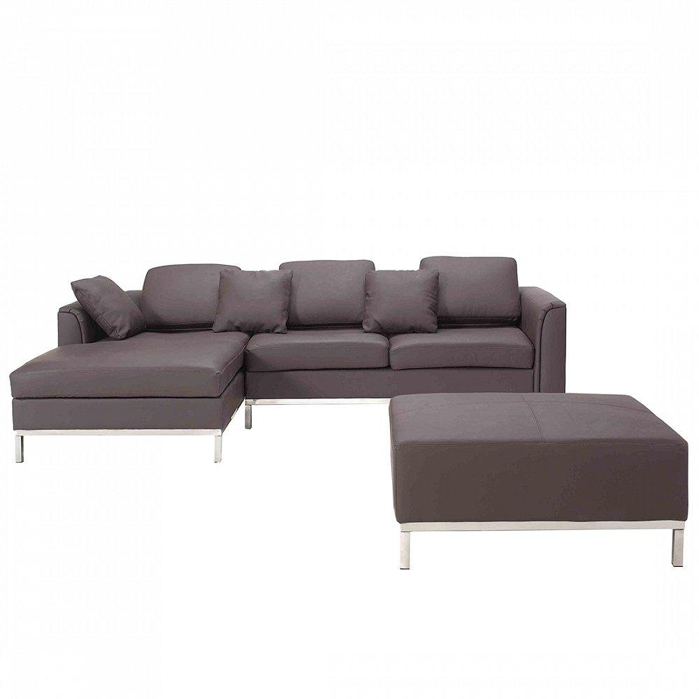 Faszinierend Eckcouch Kaufen Dekoration Von Sofa Braun Leder - Couch - Ecksofa