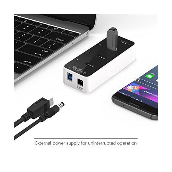 QuantumZERO Powered Hub USB 3.0/USB3.1 Gen1 4-Port 12V 2A