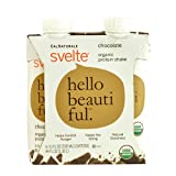 Svelte Protein Shake, Organic, Chocolate, 11 Fluid Ounce Review