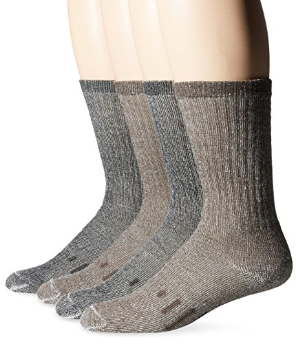 Kirkland Signature Men's Outdoor Trail Sock Merino Wool Blend Assorted Pack