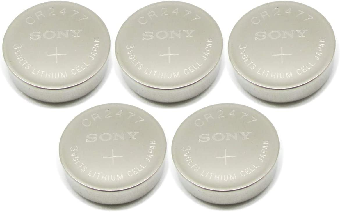Sony CR2477 CR 2477 Lithium 3V 5 Batteries