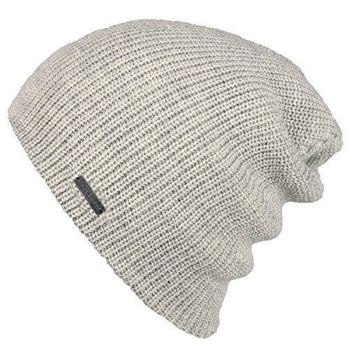 King & Fifth_Womens Slouchy Beanie_The Forte_Heather Oatmeal