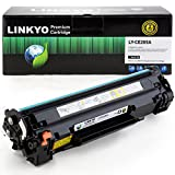 LINKYO Compatible Toner Cartridge Replacement for HP 85A CE285A (Black)