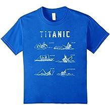 Titanic April 1912 T Shirt Tee Ship Voyage Atlantic Ocean