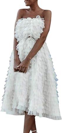 Wawer Sommer Damen Sexy Tief V Armel Susses Prinzessinnen Kleid Club Chic Abendkleid Cocktailkleid Abendkleid Weiss Spitze S Xl M Weiss Amazon De Musikinstrumente
