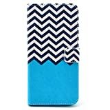 Galaxy S5 Case, Firefish Book-style Flip PU Leather Wallet [Kickstand] [Magnetic Closure] [Card Slots] [Scratch Resistant] Protector for Samsung Galaxy S5+ One Stylus-A-wave