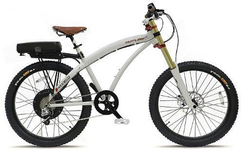 Prodeco Outlaw SE M28 V3.5 Pearl White from Shocking Rides