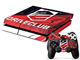 MODFREAKZ™ Console and Controller Vinyl Skin Set – Red Black Drive Group for Playstation 4