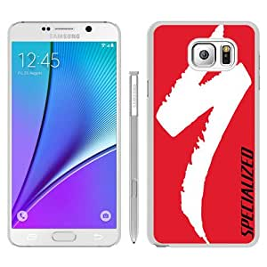 Recommended Design Samsung Galaxy Note 5 Case,Specialized Cycling Brand Mountain bike Logo White Samsung Galaxy Note 5 Customized Case