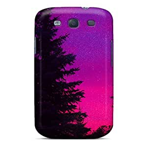 Cute Appearance Cover/tpu XKNwQtv3817NVdUs Colored Forest Case For Galaxy S3