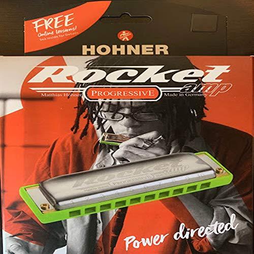 Harmonica Progressive (Hohner Rocket Amp Progressive Harmonica (Key of C))