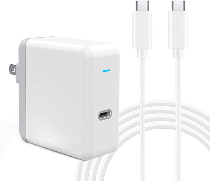 """61W USB C Power Adapter, UL Certified USB Type C Wall Charger with Power Delivery Fast Charging USBC Brick for MacBook Pro 13"""", MacBook Air, iPad Pro ..."""
