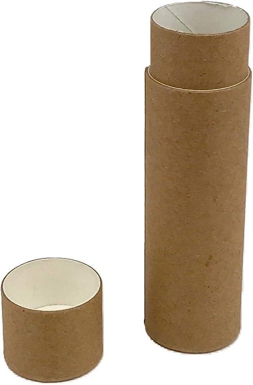 Nutleys Tubos de bálsamo de Labios biodegradables de cartón, 28 ...