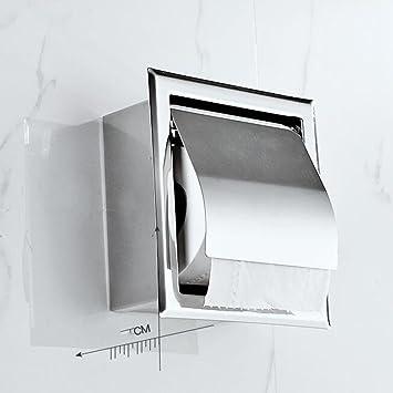 QIN Papierhalter Toilettenpapier Badezimmer Feuchttücher Hygiene ...