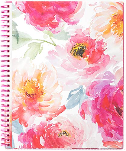 (2019 Planner - Planner 2019, Weekly & Monthly Planner, DIY 12 Monthly Tabs, Twin Wire Binding, Clear Cover Pockets, 8