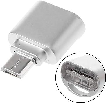 Seyouagan - Adaptador de Lector de Tarjetas SD USB para Smartphone, Tablet, Tarjeta Flash compacta: Amazon.es: Electrónica