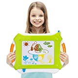 Vamslove Magnetic Drawing Board, Kids Toys Erasable Magna Doodle Pad Colorful Travel Writing...