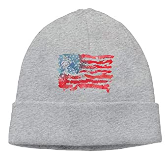 Amazon.com: Unisex Watercolor American Flag Bald Eagle