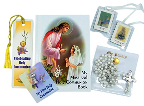 Celebrating Holy Communion Deluxe Boxed Gift Set (Girls in White)