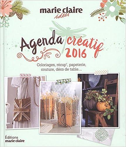 Livre Agenda Loisirs Creatifs Mci 2016 pdf
