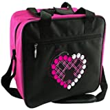 Cheap CLASSIC Pink Heart Single Tote