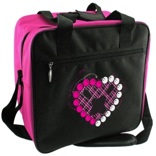 CLASSIC Pink Heart Single Tote